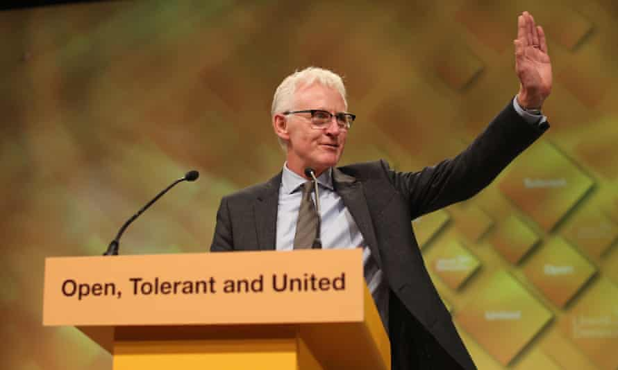 Norman Lamb at the party conference