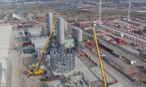 Hinkley Point C construction site.
