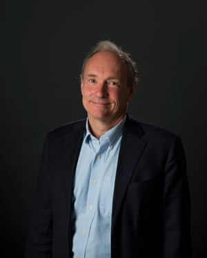Tim Berners-Lee: 'When people use the web what they do is really, really intimate.'