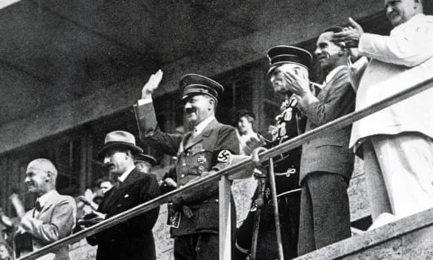 Adolf Hitler at the 1936 Olympic Games in Berlin
