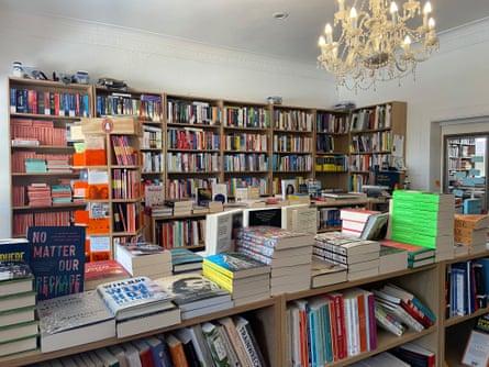 The interior of Little Bird bookshop in Geelong, Victoria.