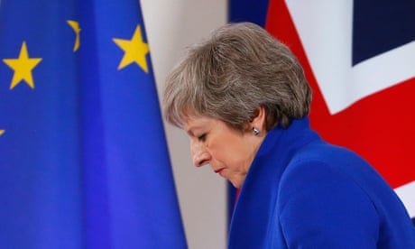 May warned she could be forced out if she pursues rejected Brexit deal