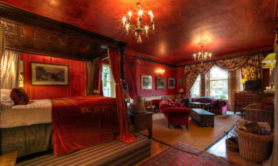 Bedroom at Strattons Hotel, Swaffham, Norfolk.