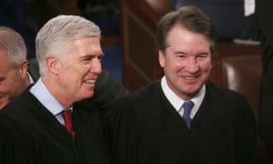 Trump appointed justices Neil Gorsuch and Brett Kavanaugh joined the liberals on the court in the 7-2 decision.