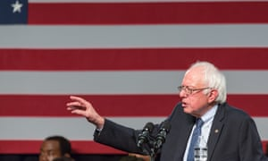 Sen. Bernie Sanders Campaigns in South Carolina<br>12 Sep 2015, Columbia, South Carolina, USA --- U.S. Senator and Democratic presidential candidate Bernie Sanders speaks to a crowd of supporters at the historic black Benedict College September 12, 2015 in Columbia, SC. Sanders was on second trip as a presidential candidate to South Carolina hoping to broaden his appeal with African American voters in the first Southern primary state. --- Image by © Richard Ellis/Corbis