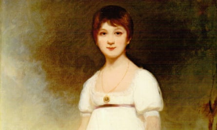 Painting known as 'The Rice portrait', which the Rice family claims is a portrait of the young Jane Austen, painted by Ozias Humphry in 1788.