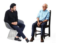 Cancer specialist Siddhartha Mukherjee and neurosurgeon Henry Marsh