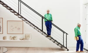 Richard Rogers at home in west London