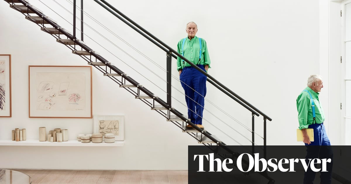 Richard Rogers: 'I would never dream of doing the Pompidou
