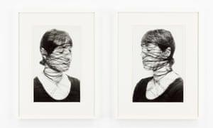 Annegret Soltau Selbst, 1975 Set of two gelatin silver prints 39 x 26.5 cm Paris Photo 2018 review