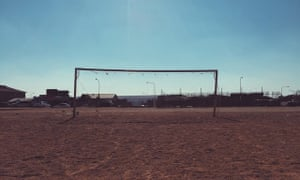 A deserted football pitch in Diepkloof, South Africa