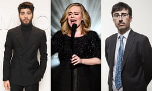 Zayn Malik, Adele and John Oliver … can they save Britain's image abroad?