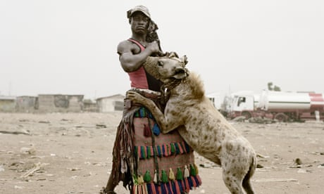 Pieter Hugo's best photograph: the hyena men of Nigeria
