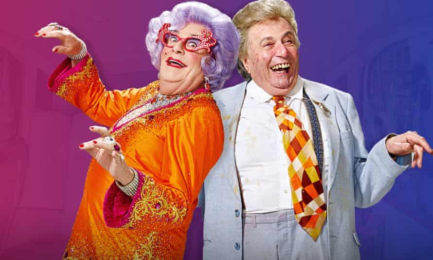 Barry Humphries as Dame Edna Everage and Sir Les Patterson