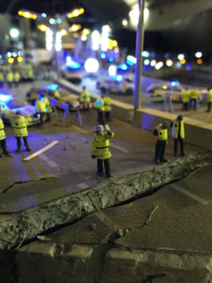 A chasm in the road surface in The Aftermath Dislocation Principle