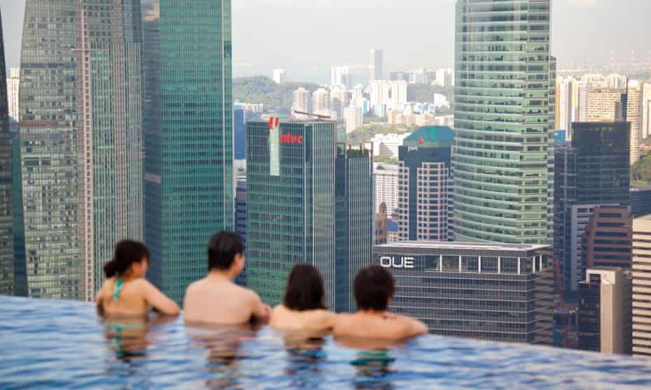 rooftop pool Singapore