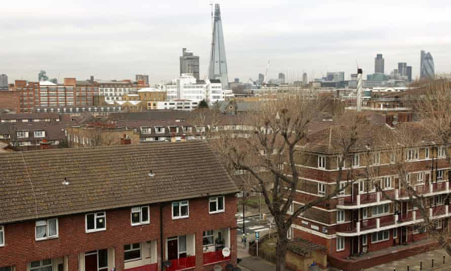A council estate in Bermondsey, south London