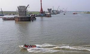 Bangladesh's Padma Bridge project.
