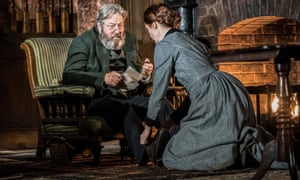 Roger Allam and Justine Mitchell in Rutherford and Son.