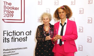 The 2019 Booker Prize Winner Announcement - Photocall<br>LONDON, ENGLAND - OCTOBER 14: Joint winners Margaret Atwood and Bernardine Evaristo attend The 2019 Booker Prize Winner Announcement at The Guildhall on October 14, 2019 in London, England. (Photo by David M. Benett/Dave Benett/Getty Images)