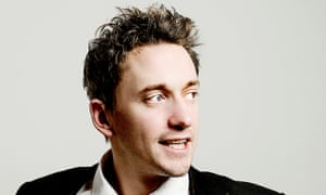John Robins... 'It's a constant frustration to my girlfriend that I've never seen Seinfeld'.