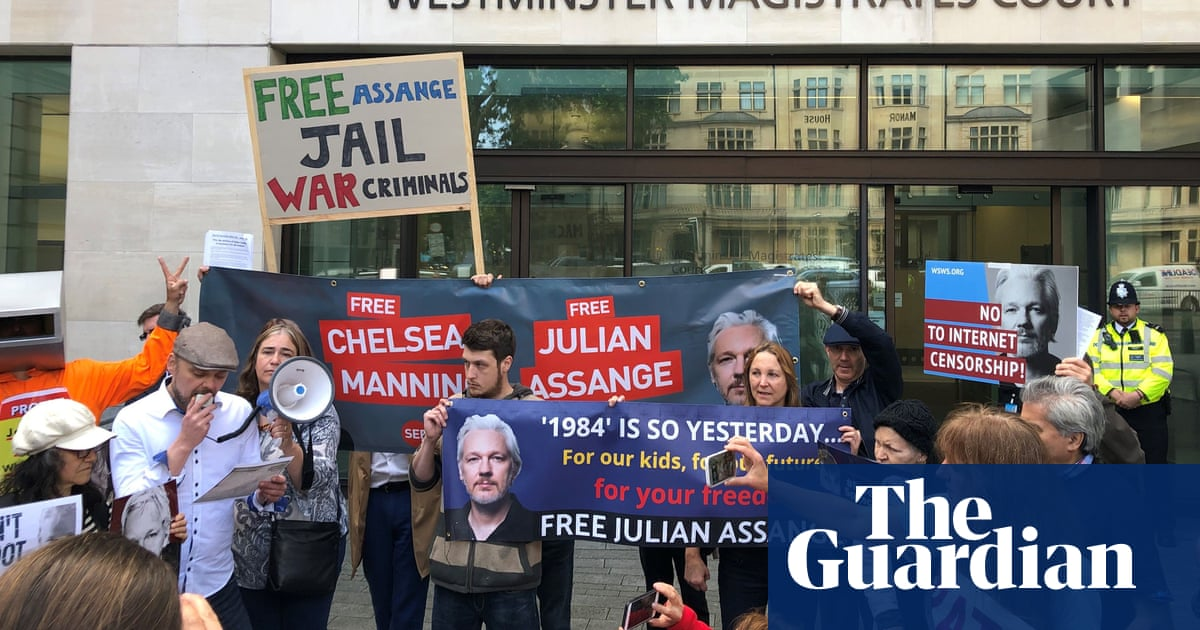 Julian Assange too ill to appear in court via video link, lawyers