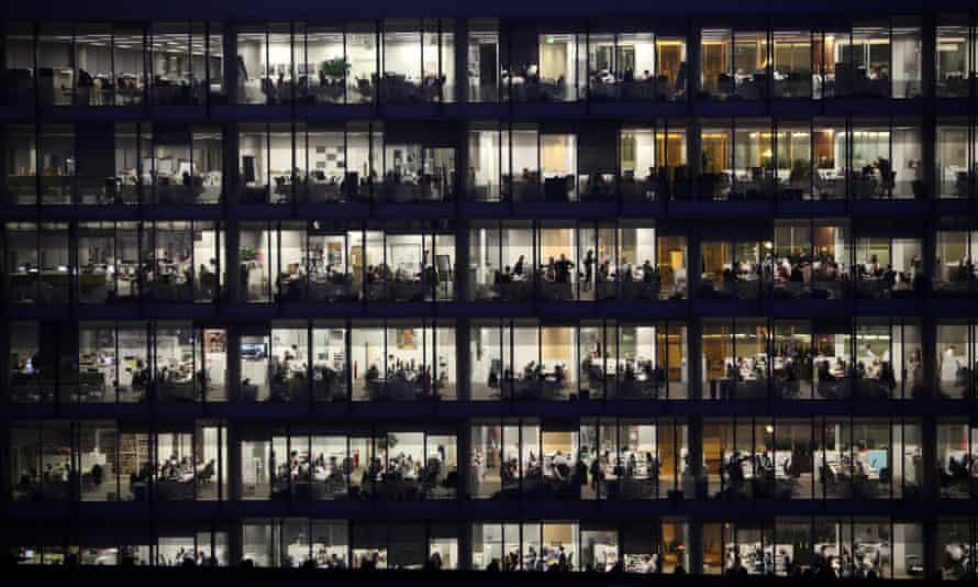 Office at night