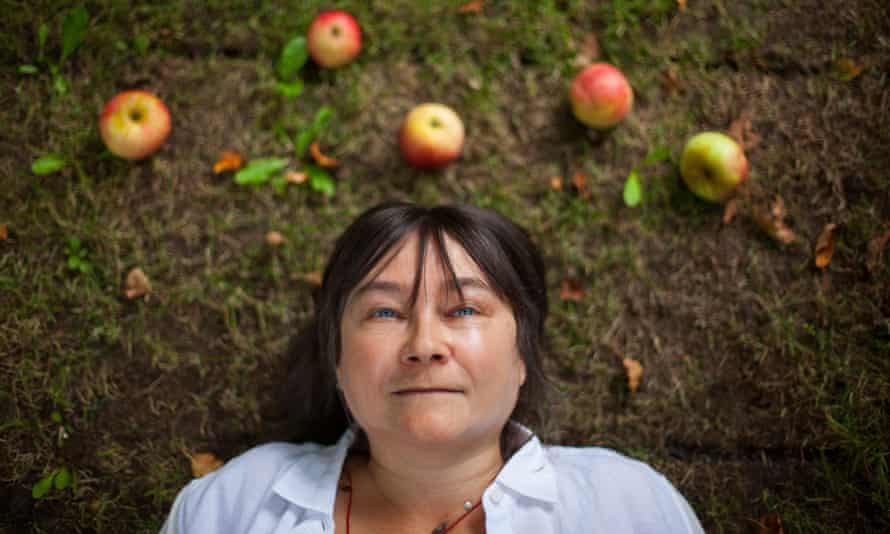 The novelist Ali Smith.