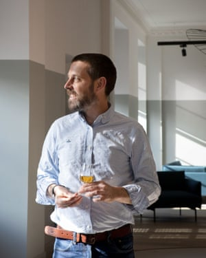 Alex Robertson, The Glenlivet's head of heritage and education.