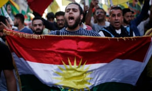 Kurds in Greece protest outside Turkish embassy in Athens. Several European cities saw protests.