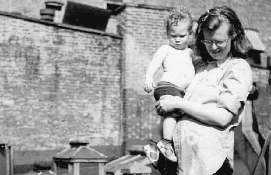 'I wrote of neuroses and fear' … Shirley Jackson with her son Laurence Jackson Hyman in New York.