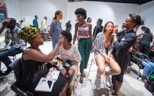 One tagline of fashion week was, 'Congo: au royaume des sapeurs', the kingdom of the sapeurs