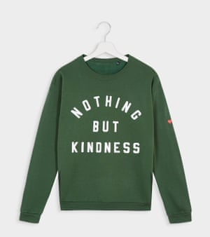 "Kinder fashionBritish brand Smith Webb's mission statement is: ""In a world where you can be anything, be kind"" – a sentiment we can get behind. Proceeds from the Kindness collection support mental health and anti-bullying charities: £5 from the Nothing But Kindness sweatshirt goes directly to Mind.£48, smithwebb.com"