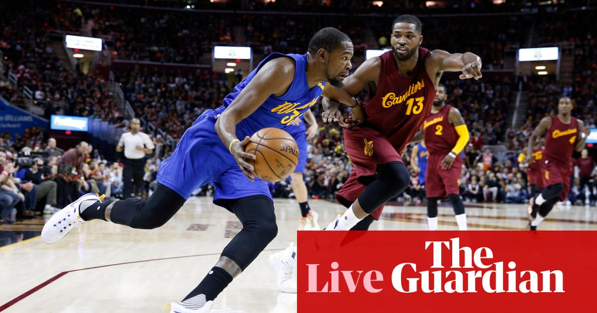 7de3733c191 NBA on Christmas Day  Golden State Warriors 108-109 Cleveland Cavaliers –  as it happened!