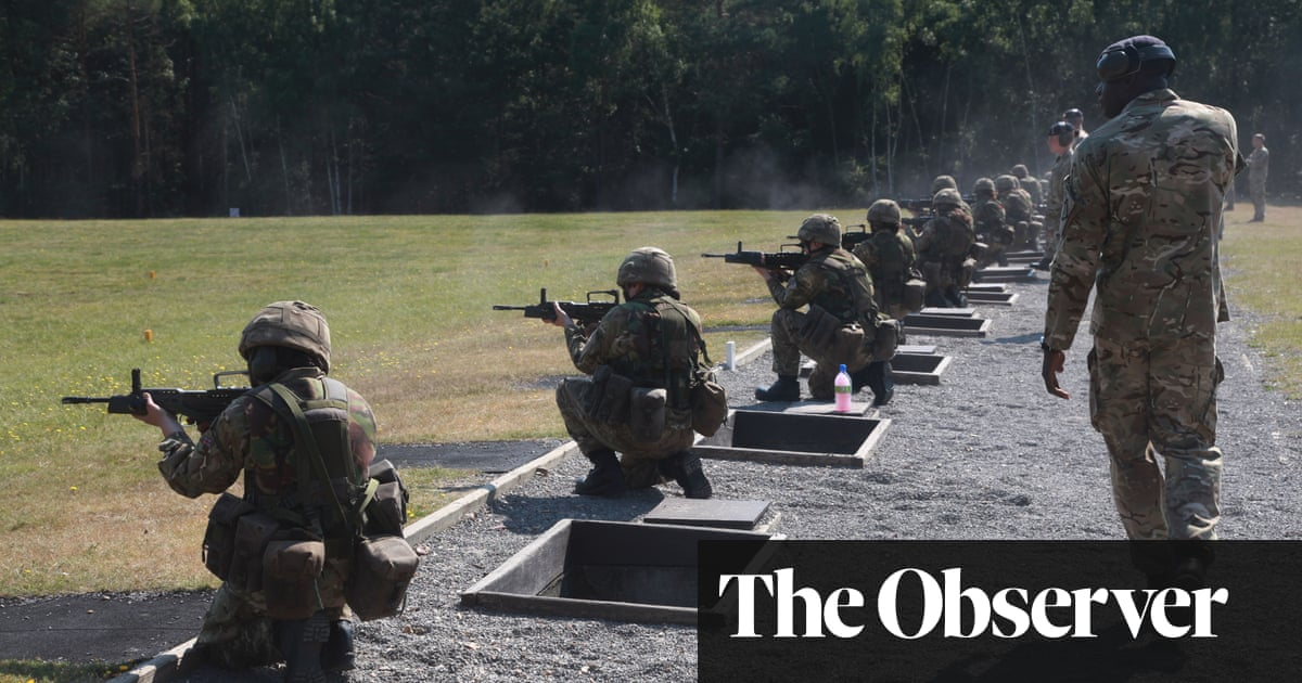 Two-thirds of women in UK military report bullying and sexual abuse