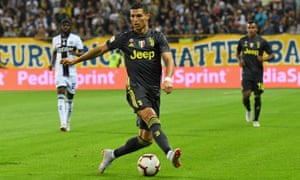 Cristiano Ronaldo couldn't find the net for Juventus against Parma at the Stadio Ennio Tardini, but his side won 2-1.