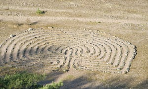 A Viking stone age labyrinth. Researchers want to learn more about 'the intensity of the Scandinavian colonisation' in the 9th and 10th centuries in France.