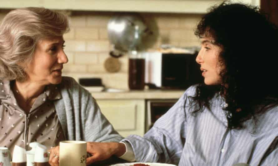 Olympia Dukakis, left, with Cher in Moonstruck.