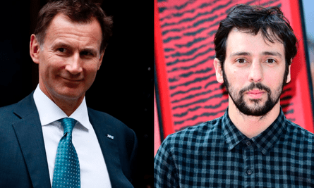 Jeremy Hunt and Ralf Little.