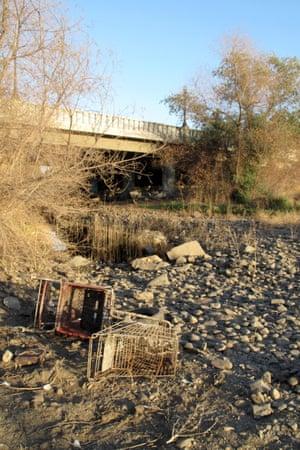 tule river east porterville california drought