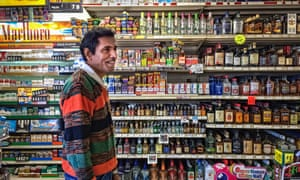The owner of a bodega, a small convenience and liquor store, in California.