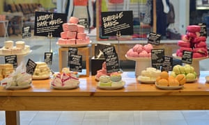 Lush store display