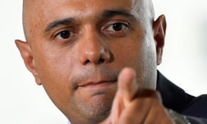 Sajid Javid used his first appearance as home secretary to promise to 'do right by the Windrush generation'.