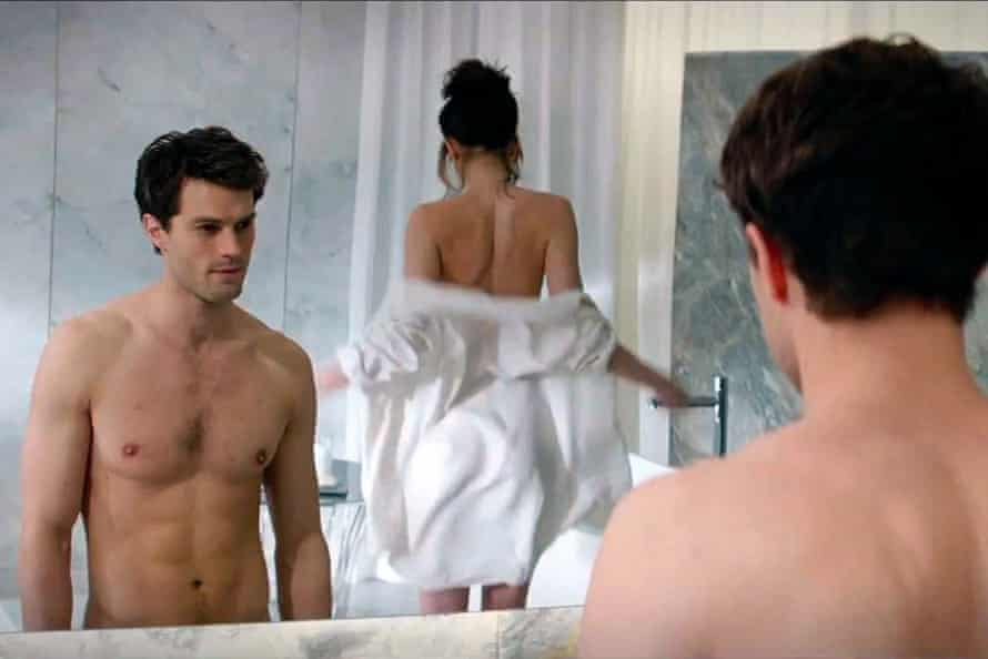 Reflecting underlying social expectations? … Jamie Dornan and Dakota Johnson in Fifty Shades of Grey.