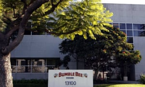 The Bumble Bee tuna processing plant in Santa Fe Springs, California