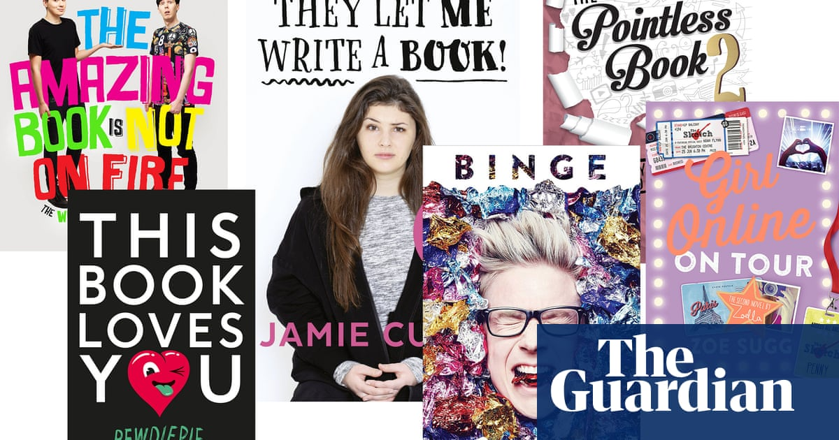Zoella and the YouTubers: they let us write pointless books