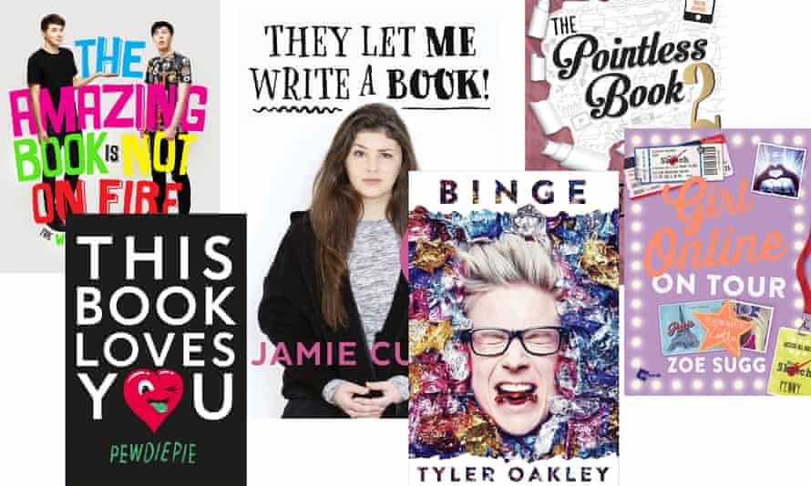 Will these YouTubers' literary efforts stand the test of time?