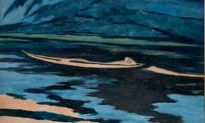 Léon Spilliaert, The Shipwrecked Man, 1926