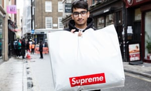 Kaylum Patel was one of the first customers to buy the Undercover/ Public Enemy collection by Supreme