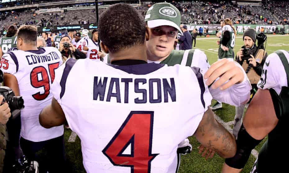 Deshaun Watson and Sam Darnold could both be on the move this off-season